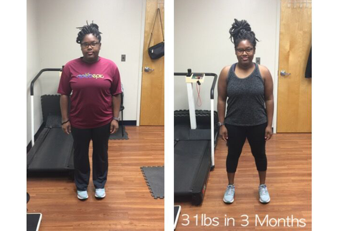 31lbs in 3 Months