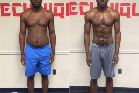 21.8lbs weight loss